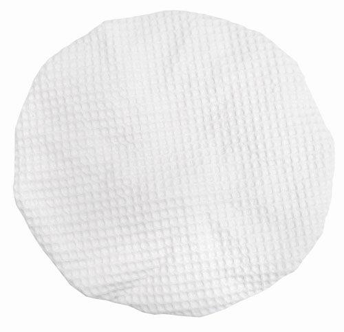 White Waffle Shower Cap