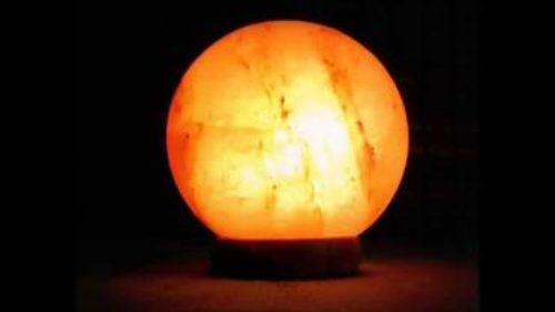 Himalayan Salt Lamp: Moon